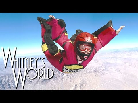 Skydiving without a Parachute | Indoor Skydiving | Whitney Bjerken