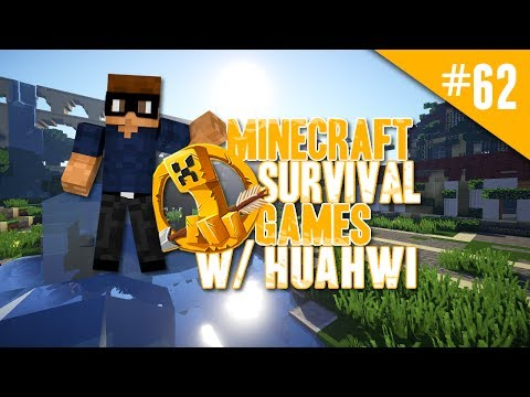 Minecraft Survival Games w/ Huahwi #62: I Will Not Fall