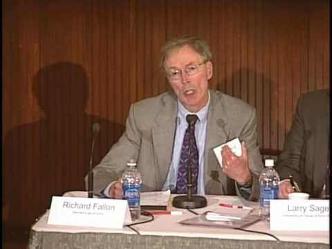 Justice for Hedgehogs: Professor Richard Fallon