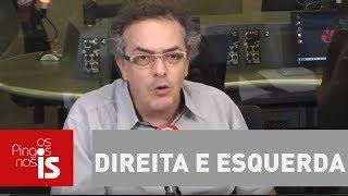 Felipe Moura Brasil e Tognolli discutem sobre direita e esquerda