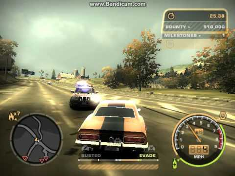 NFS Most Wanted 2005 Car Punch Yo!