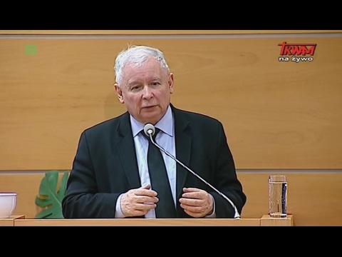 """Konferencja Gospodarcza: Jarosław Kaczyński:  """"Odpowiedzialność przedsiębiorców za Polskę"""""""