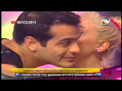 COMBATE Ernesto pide disculpas a Yamila 29/10/13