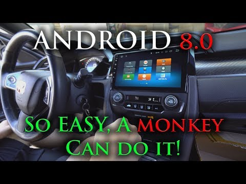 Civic Android Head Unit  | FULL INSTALLATION