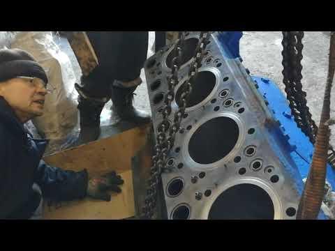 Скания капитальный ремонт двигателя дс 14 часть 4