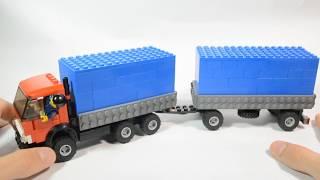 Назад в СССР выпуск №8 LEGO КамАЗ 5320 с прицепом