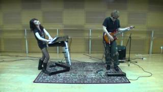 """Breaking All Illusions """"A Dramatic Turn Of Events"""" -Dream Theater- Guitar&Keyboards Cover By Swimmy"""
