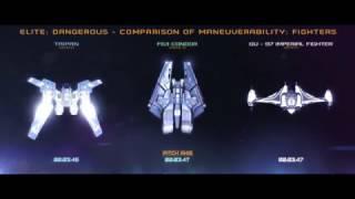 Elite: Dangerous - Comparison of maneuverability: Fighters