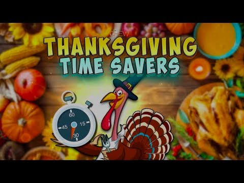 Thanksgiving Time Savers from The Chew!