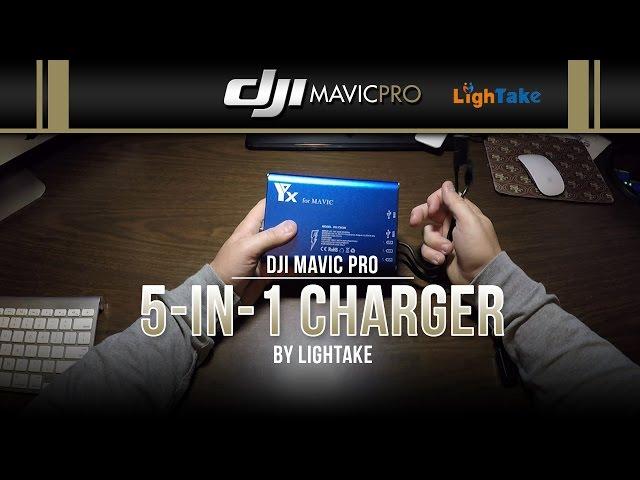 DJI Mavic Pro / 5-in-1 Charger (Showcase)