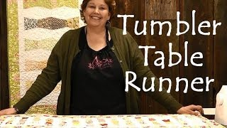 This video is not available. Tumbler Table Runner - Easy Quilting Projects