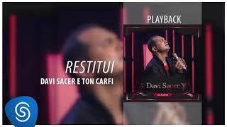 Davi Sacer  - Restitui (Playback)