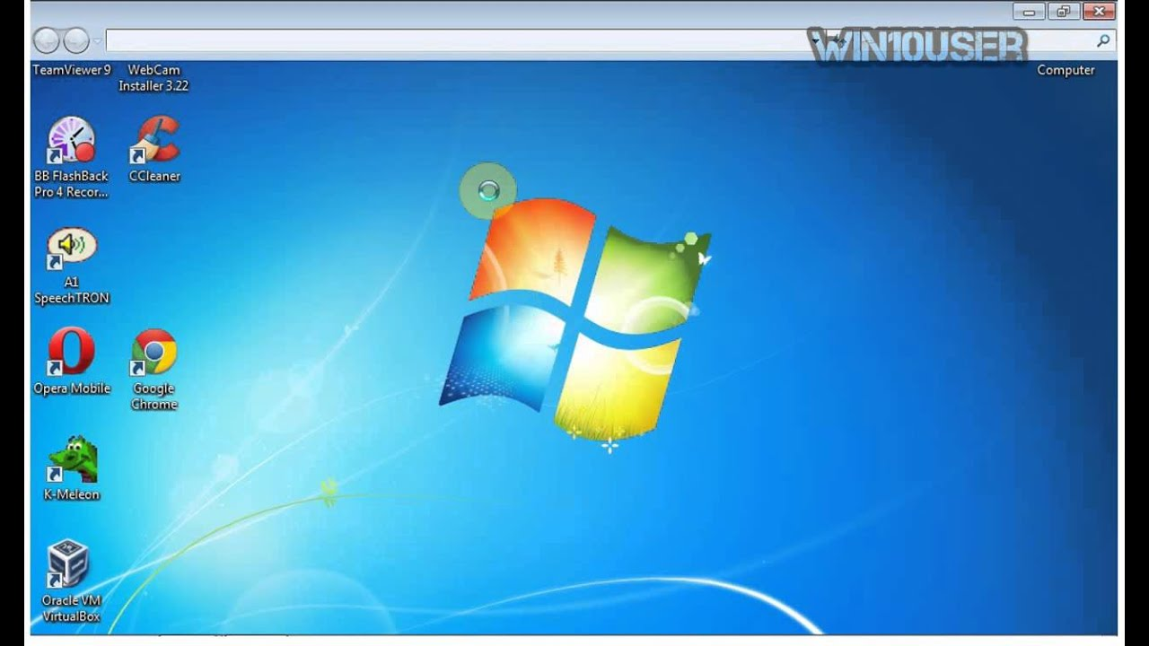 Windows 7 Ultimate Tips : How to open recycle bin (missing ...