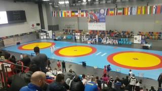 Чемпионат Европы по самбо среди юниоров. ПРАГА 2017(6)