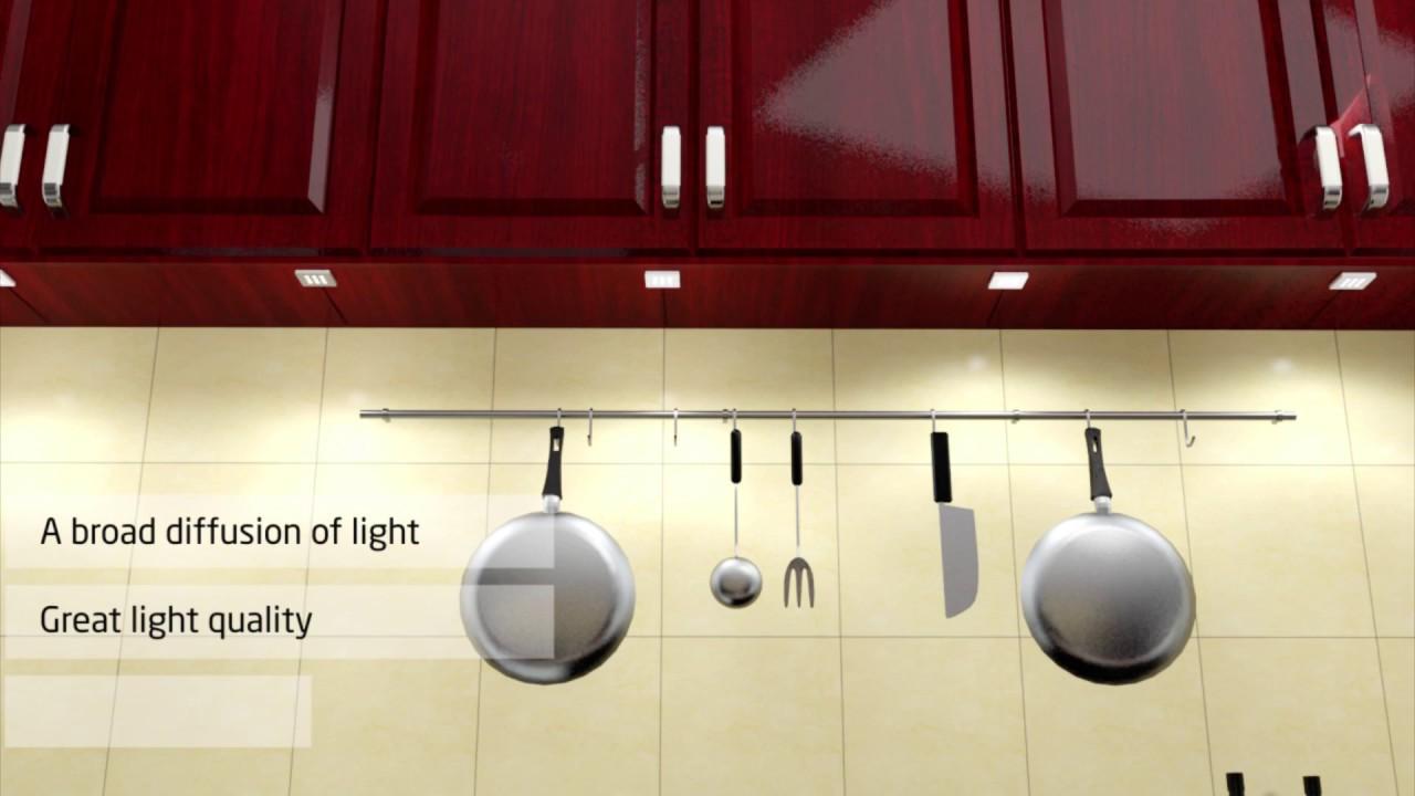 Tunable white LED Kitchen Lighting - YouTube