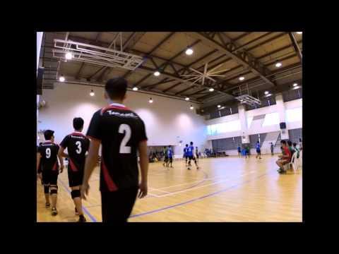 Polite Tchoukball 2015 - NP vs RP (Mens)