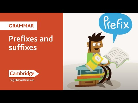 English Language Learning Tips - Prefixes and Suffixes