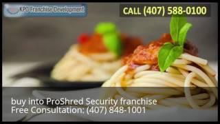 buy into ProShred Security franchise