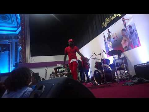 Dalisoul's Perfomance At The Zambian 53rd Independence Party.