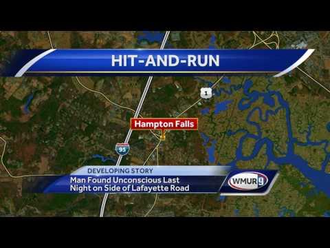 Man found unconscious on side of Hampton Falls road