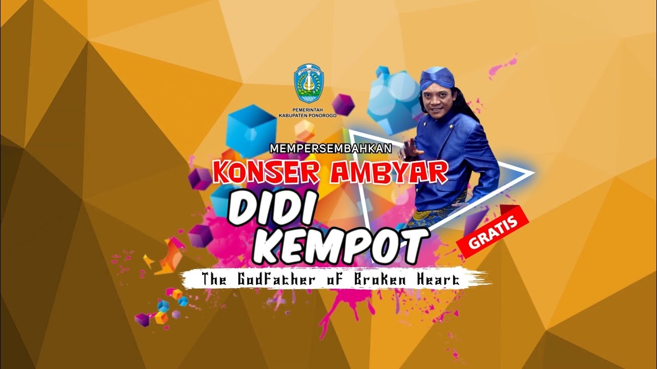 Official Tvc Konser Ambyar Pemkab Ponorogo Bersama Didi Kempot