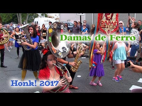 HONK! 2017 - Damas de Ferro - Oct 7 - Davis Square, Somerville