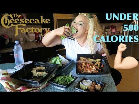 SKINNYLICIOUS MENU MUKBANG FROM CHEESECAKE FACTORY (EATING SHOW)