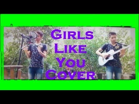 Girls Like You Cover - Maroon 5 feat. Cardi B | Remix cover by Divyansh Johari 2018