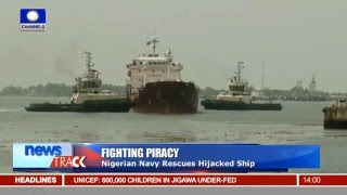 Fighting Piracy: Nigerian Navy Rescues Hijacked Ship