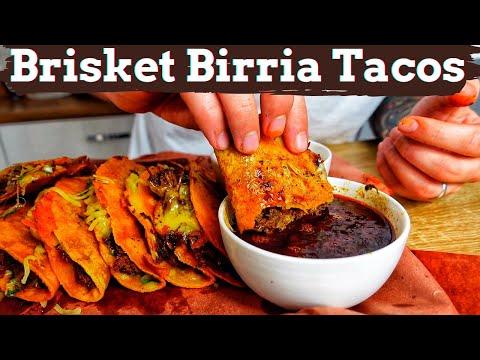 Brisket Birria Tacos