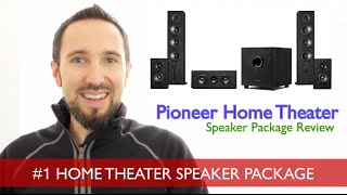 Pioneer SP-PK52FS Review - Best 5.1 Home Theater Speakers Under $600?