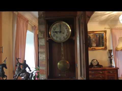 Vintage German 'HAC' Wall Clock