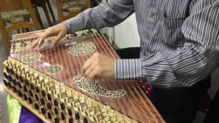 عزف قانون / لما بدا يتثنى arabic music