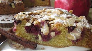 Рецепт- Венский вишнёвый пирог