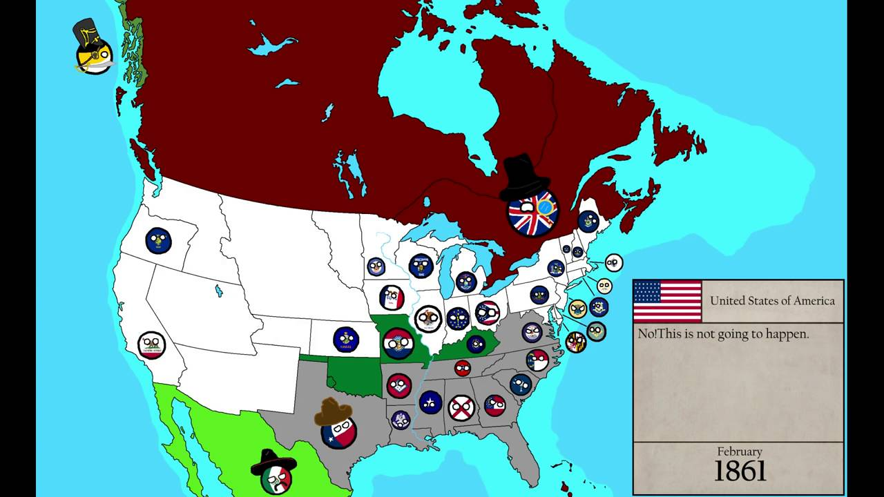History Of North America Country