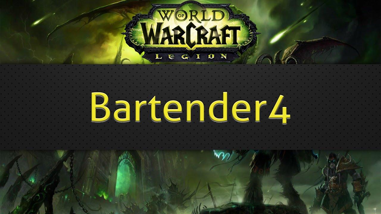 Bartender4 (WoW addon) - YouTube  Bartender4 (WoW...