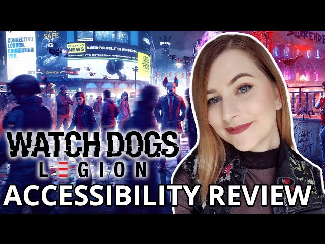 AIGHT MATE | Watch Dogs Legion | Cognitive Accessibility Review