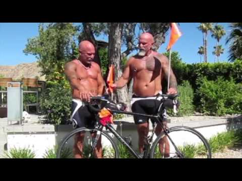 Mounting a flag on your bicycle
