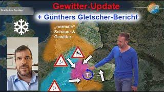 """Konvergenz mit """"giftigen Gewittern"""". Samstag Unwettergefahr! Aktuelle Wettervorhersage 5.-12.08."""
