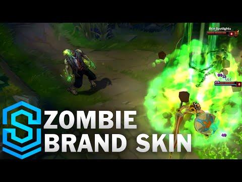 Zombie Brand Skin Spotlight - League of Legends
