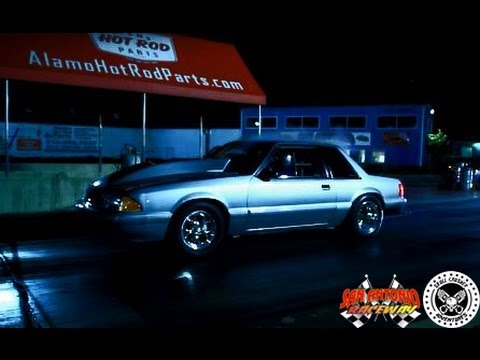 THE SILVER BULLET: A True 10.5 Tire Class FOX BODY MUSTANG