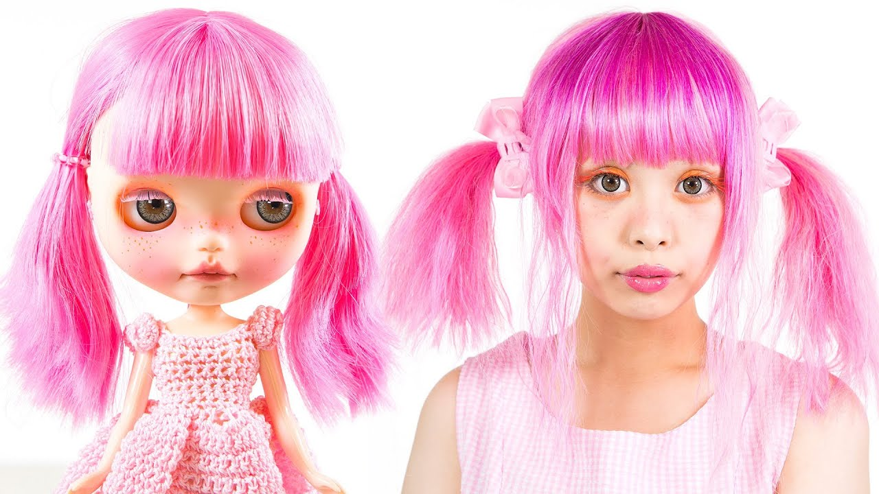 Blythe Doll Makeup Tutorial You