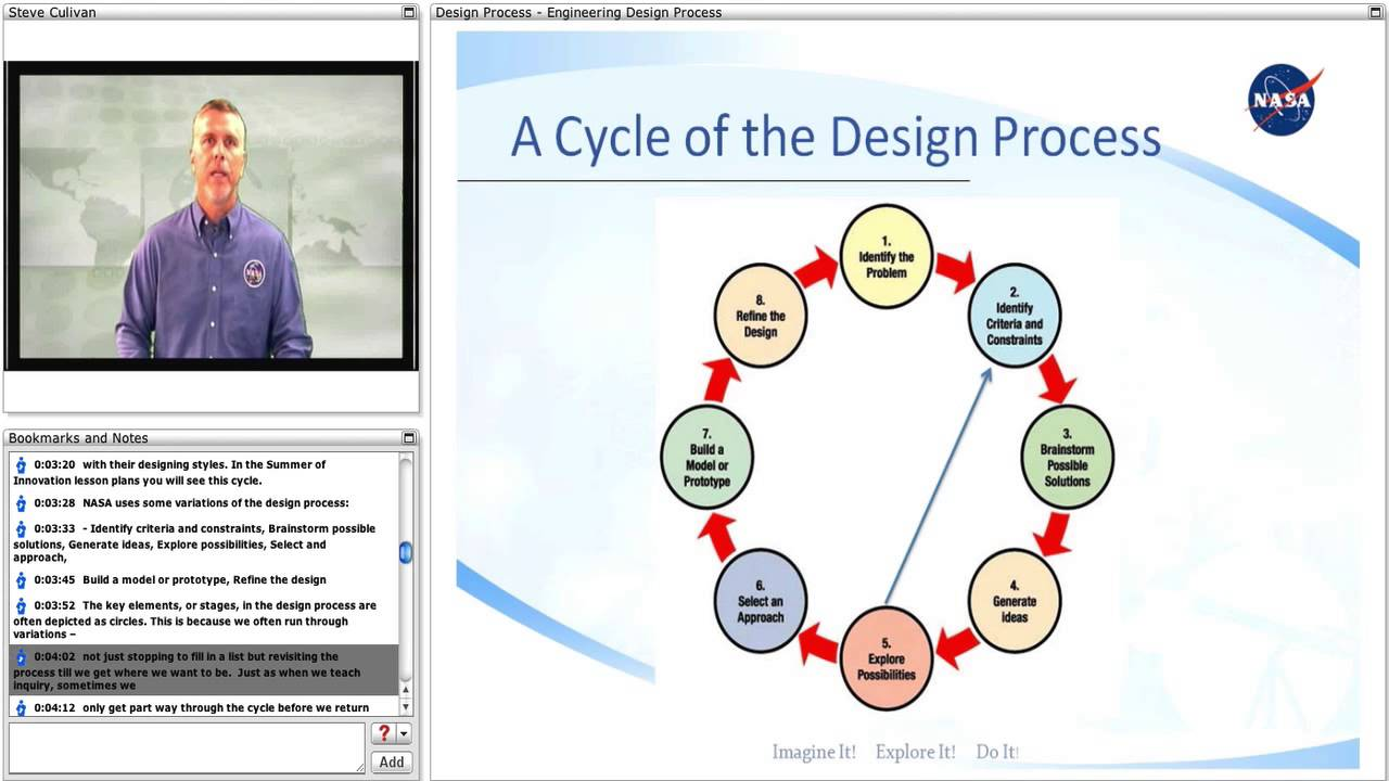 Nasa Engineering Design Process : Engineering design process youtube