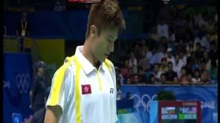 吳 蔚 vs 林 丹 2008 北京奧運羽毛球男單 2