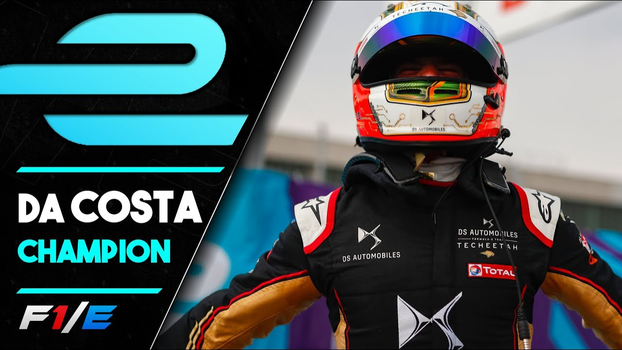 Da Costa Becomes Formula E Season 6 CHAMPION