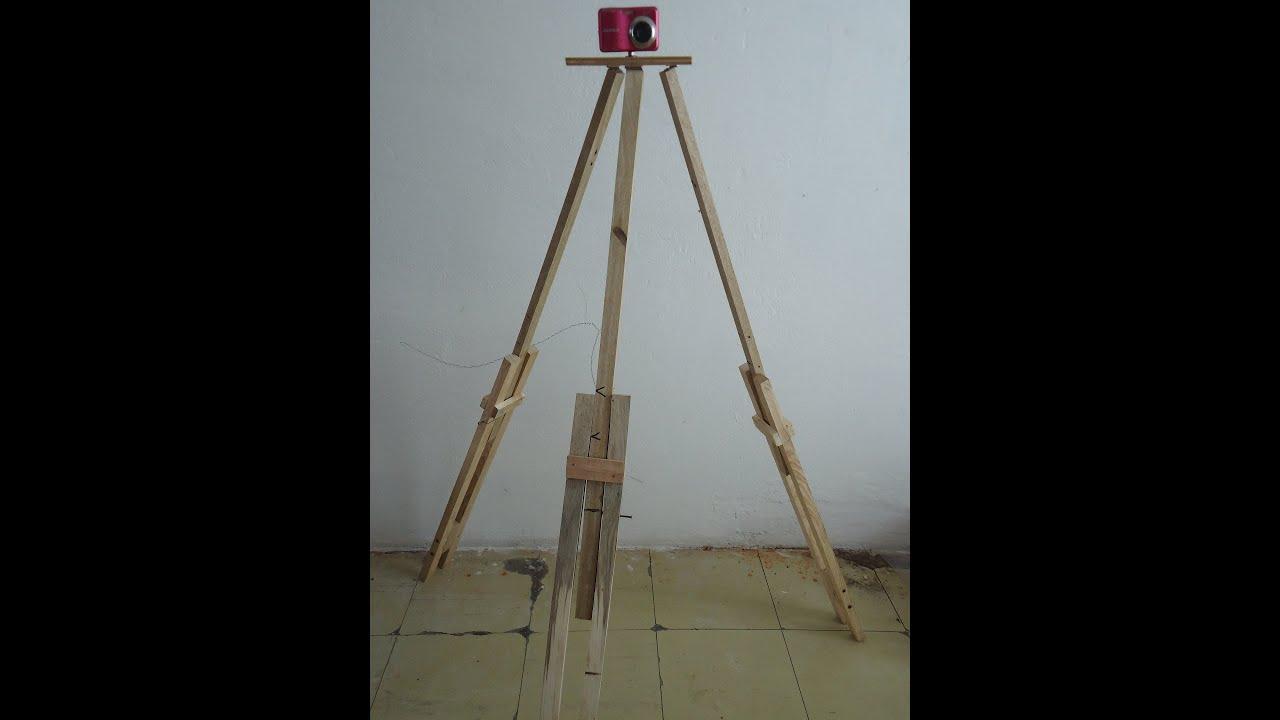 Como hacer un tripode para camara youtube for Como fabricar un kiosco de madera