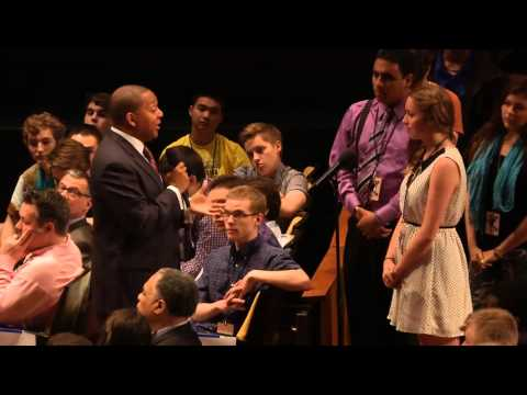JLCO Welcome and One-on-One with Wynton Marsalis