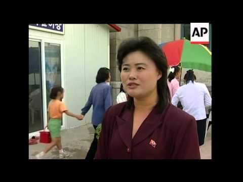 APTN report on roller blading in Kim Il Sung Square