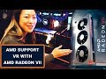 AMD: Support for VR With Radeon ReLive and Radeon VII