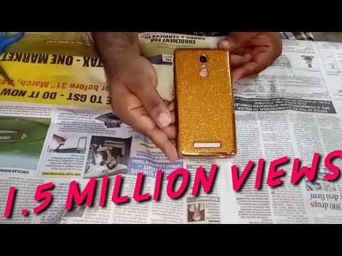 mobile cover decoration